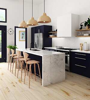 I will design and render your kitchen or bathroom project