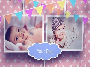 I will create beautiful & cute birthday wish video for your baby kids