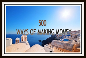I will teach you 500 ways of making money online with or without money