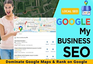 I will  verify  your Google My Business and Map Listing