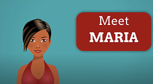 I will explain your business with Maria