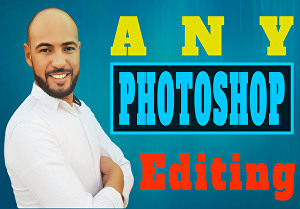 I will do any photoshop editing retouching and background removal