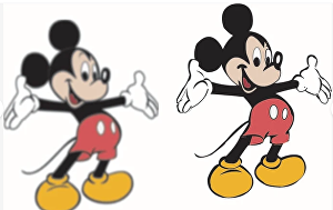I will convert low resolution image into high resolution vector