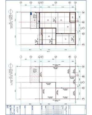 convert your sketch into autocad drawings