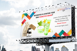 I will design a billboard, yard sign, signage or signboard for your business