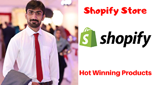 I will Create a Branded one Product Shopify Store with Winning Products