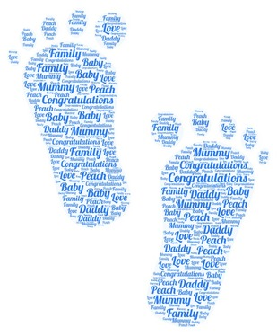 design typography, personalised word art and word cloud in the shape of your choice