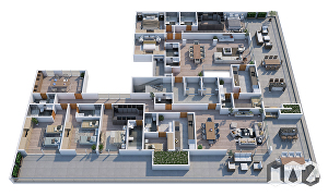 I will create realistic architectural render exterior, interior and floor plan