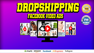 I will make Dropshipping product video ad for Facebook