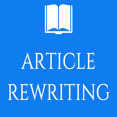 manually rewrite any content of your choice