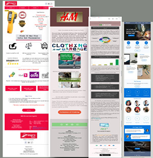 I will do professional email template and set up email campaign