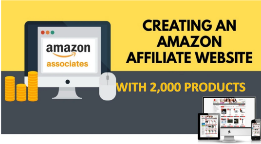 create an automated affiliate amazon store for you