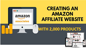 I will create an automated affiliate amazon store for you