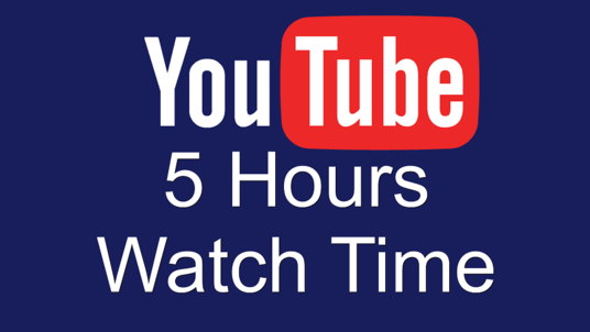 Watch 5 hours of your YouTube Videos