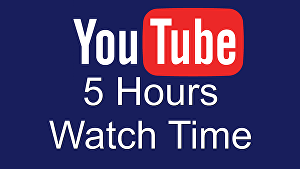 I will Watch 5 hours of your YouTube Videos