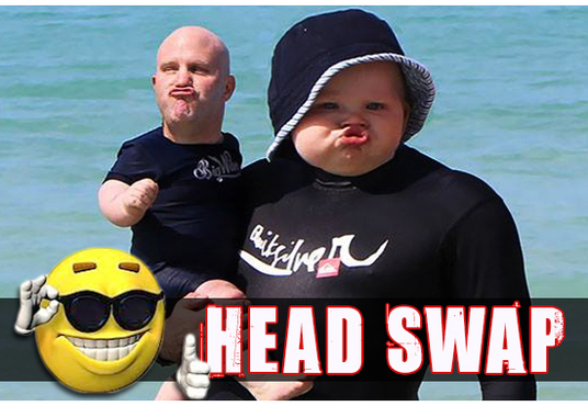 do realistic head swap or face swap using Photoshop