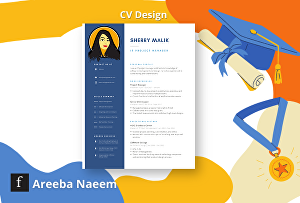 I will make a modern resume design