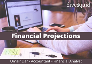 I will do financial projections, ratio analysis