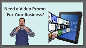 I will  make a promotional video for your product or service