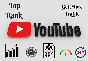 I will do best youtube video SEO to get organic traffic in 24 hours