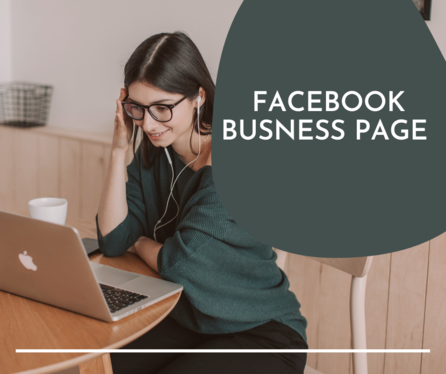 design and create facebook business page and connect with instagram