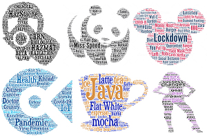 I will Do typography design and word cloud arts in any shape