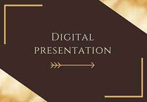 I will create digital powerpoint presentation