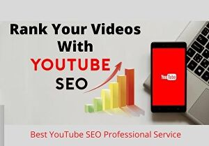 I will Do Best YouTube SEO Professional Service
