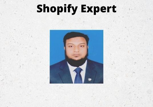 create high converting shopify store or shopify dropshipping  store