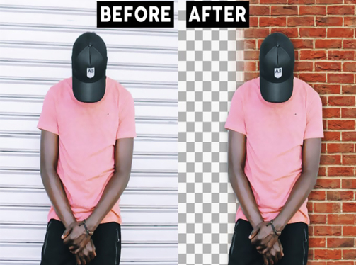 Perfectly Remove or Change the Background of 10 images