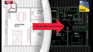 I will convert your PDF, sketches or images into AutoCAD file