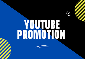 I will do organic youtube promotion through video SEO