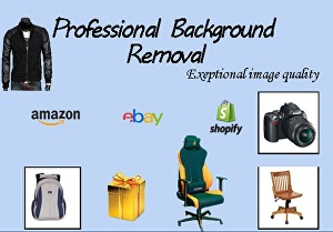 I will do Background Removal for Amazon and other online-shop products