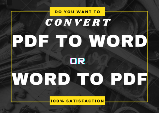 convert PDF to Word with 100% accuracy