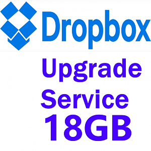 I will help you to increase your Dropbox storage up to 18 GB for lifetime
