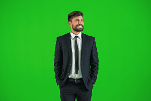 I will remove green screen background from photos