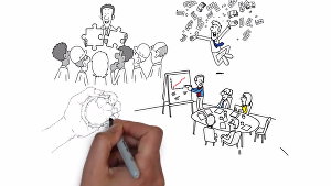 I will Create  HD Whiteboard Animation video  for you
