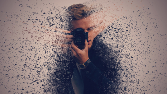 create a dispersion effect on your photo