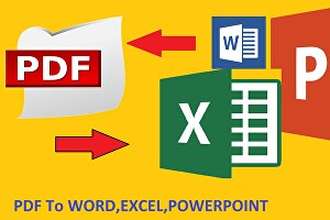 I will edit your pdf file and convert it to any file