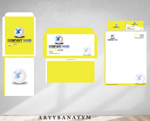 I will make professional business stationery