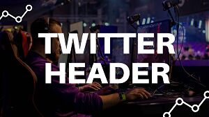 I will design twitter gaming header