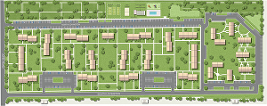 I will do site plan render or real estate plan illustration