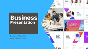I will Design Business PowerPoint Presentations and PPT template