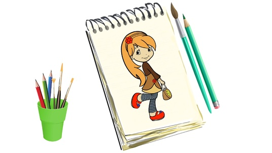 create coloring pages drawing video for youtube