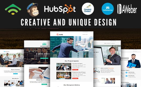 design a professional HTML email template or newsletter template