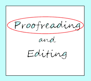 I will proofread or edit your content so that you make a good impression