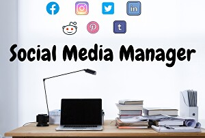 I will be your social media manager for 7 days