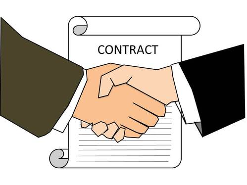 Write a contract or agreement