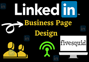 I will help to design your business linkedin page, profile in 24 hr