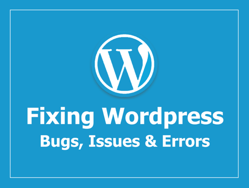 fix Your WordPress  Issues or Errors